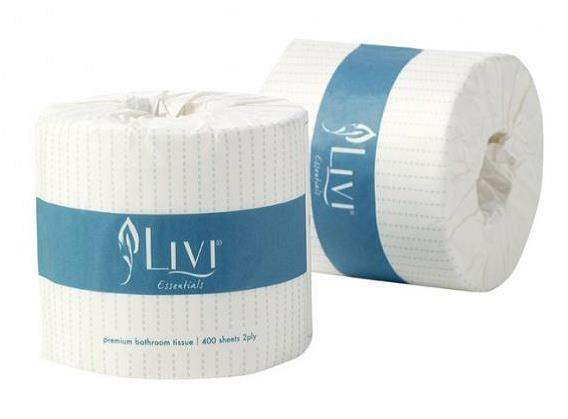 2 Ply 700 Sheet Wrapped Toilet Rolls