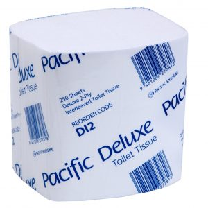 2 Ply Deluxe Interleaved Toilet Tissue
