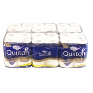 3 Ply 190 Sheet Quilton Toilet Rolls