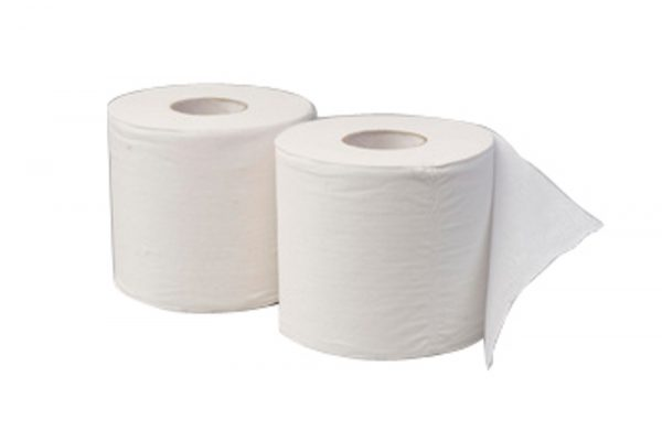 1 Ply Green Recycled Toilet Rolls
