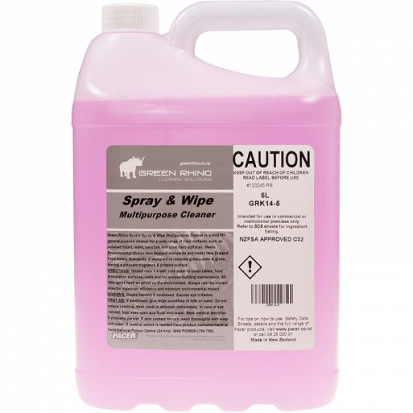 Spray & Wipe Multipurpose Cleaner - 5 Litre