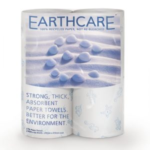 2 Ply Earthcare Kitchen Towels