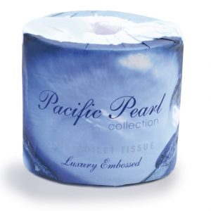 3 Ply Pacific Pearl Luxury Toilet Rolls