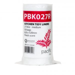 27 Litre White Kitchen tidy Liners