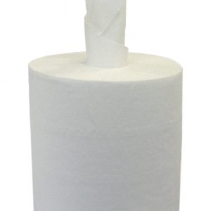 2 Ply White Centrefeed Wipes